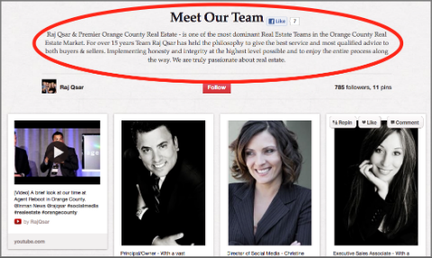 raj qsar team | christine thomas | social pepper