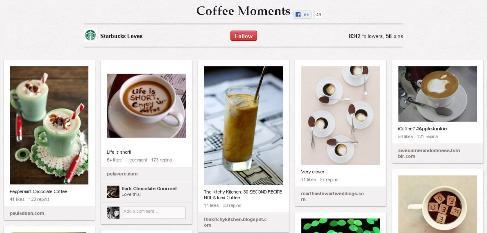 starbucks coffee moments
