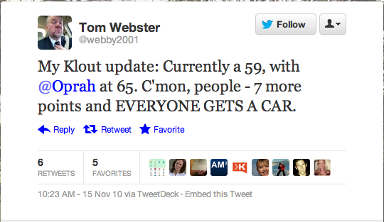 tom webster twitter