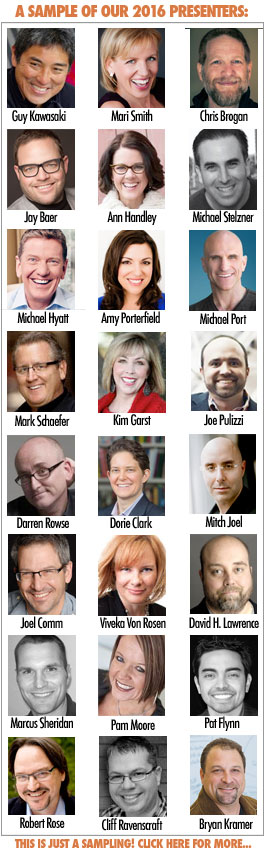 social media marketing world 2016 speakers sample
