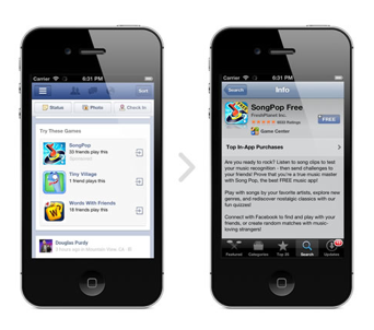 facebook mobile adds