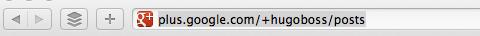 google+ custom url