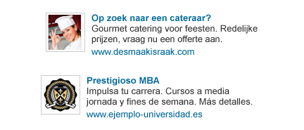 linkedin ads now in other languages