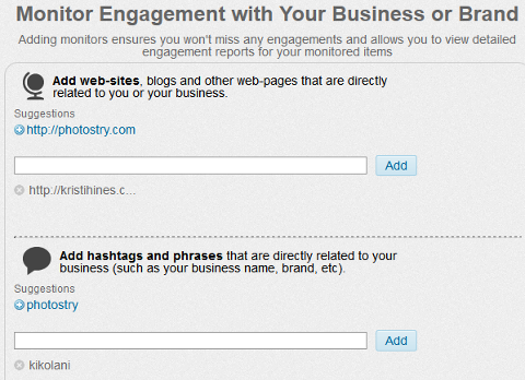 Monitor Items for Your Business on Commun.it