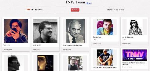tnw team pinterest board