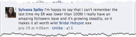 bridal hotspot comment