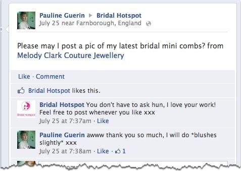 bridal hotspot fan question