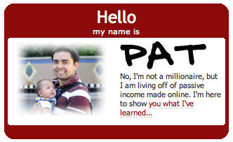 hello my name is pat