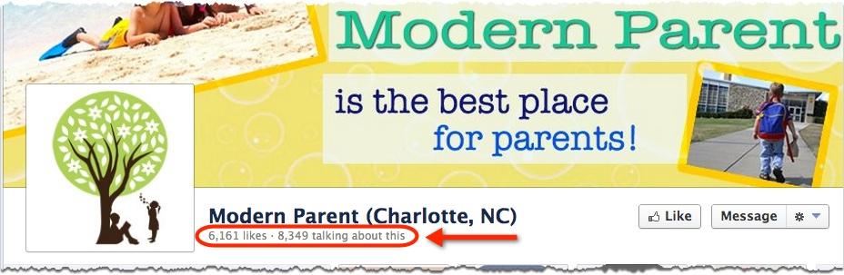 modern parent fan page