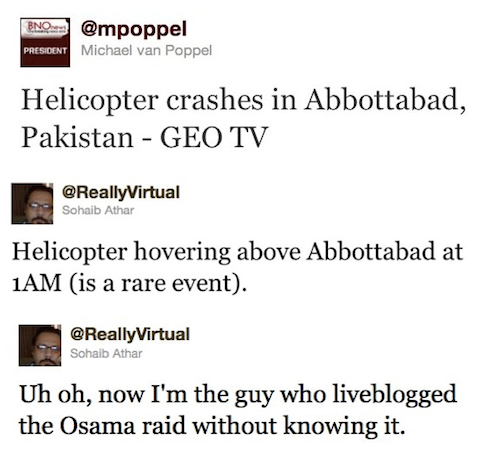 news tweets