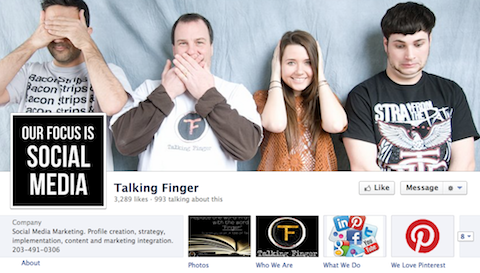 talking finger