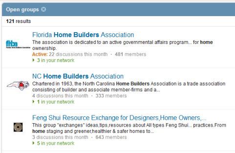 linkedin group builders
