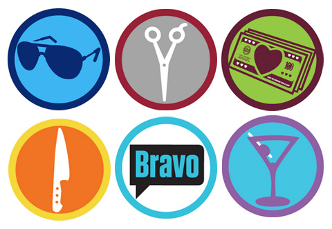 bravo foursquare badges