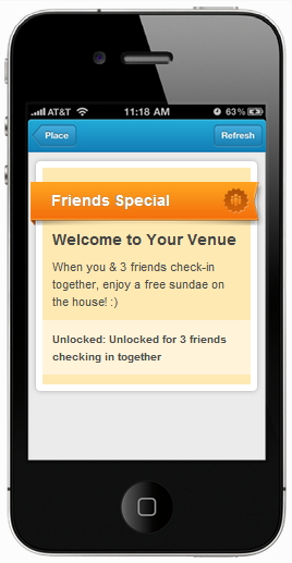 foursquare special plain example
