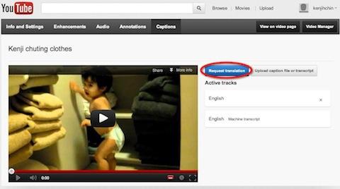 youtube translation captions