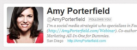 amy twitter bio