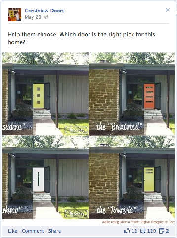 choose which door & 4 Tips to Evangelize Your Brand on Facebook : Social Media Examiner pezcame.com