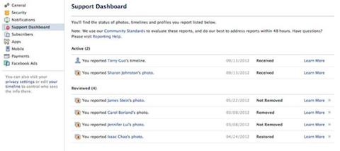 facebook-support-dashboard