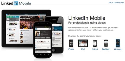 linkedin for mobile