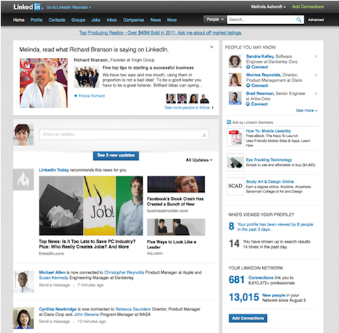 linkedin thought leader publishing