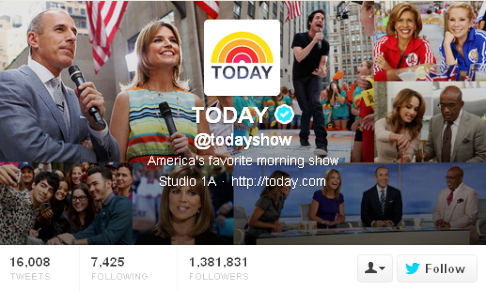 today show collage