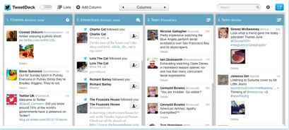 tweetdeck new look