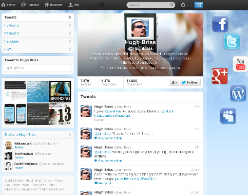 blank twitter profile template - how to maximize your new twitter profile social media