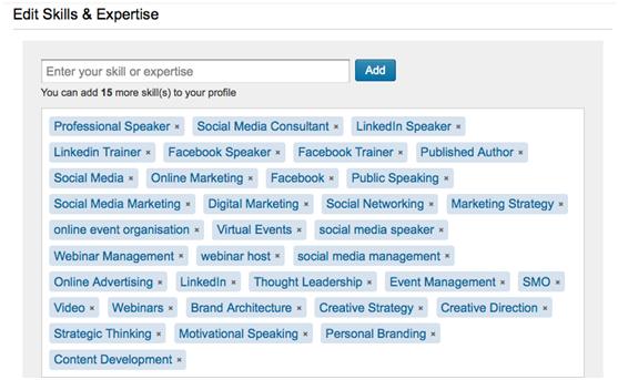 6 Tips for Using LinkedIn the New Endorsements : Social Media Examiner