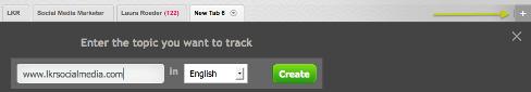 add new tab