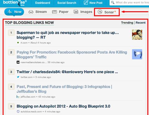bottlenose trending content