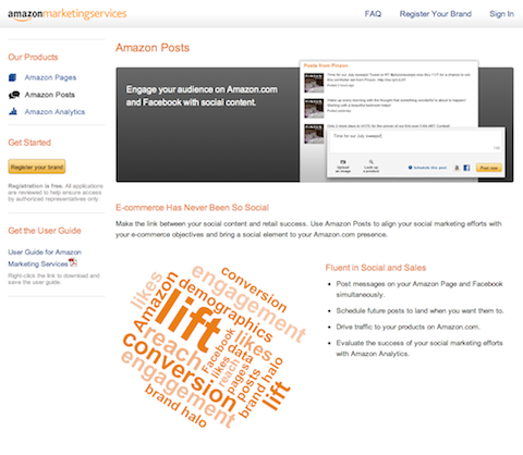 amazon pages