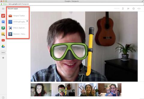 google+ hangouts apps