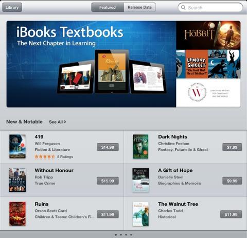 ibooks textbooks