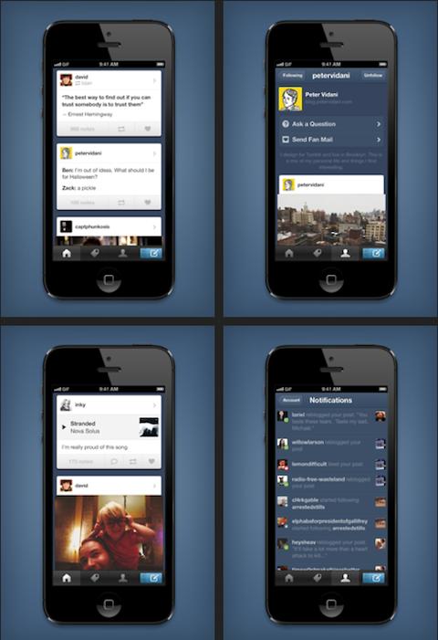 tumblr iphone app