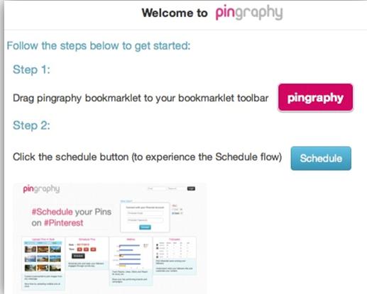 pingraphy bookmarklet