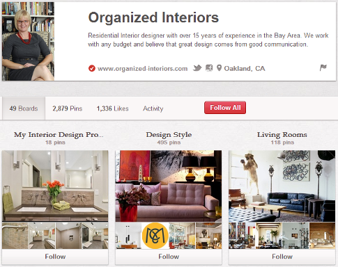 organized interiors