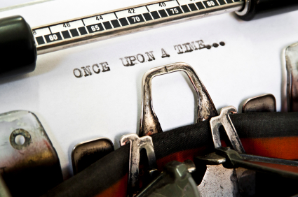 istock 21305953 writing once upon a time