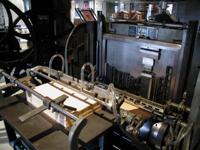 gutenberg print press