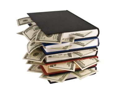 dollars in books