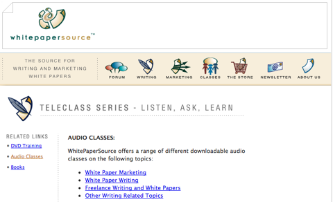 whitepaper source audio classes