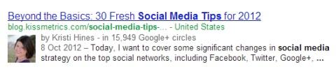 keywords google search result