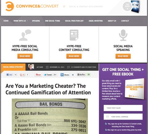 are you a marketing cheater