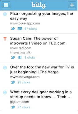 bitly iphone app
