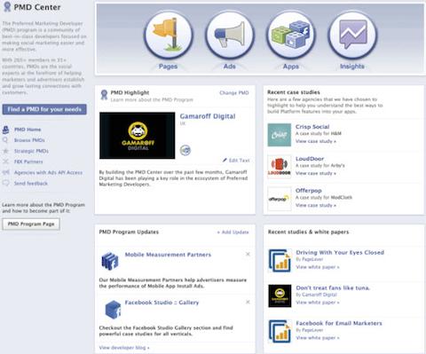 facebook pmd center