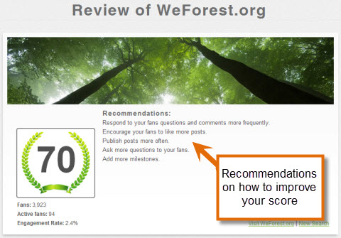 review of weforest