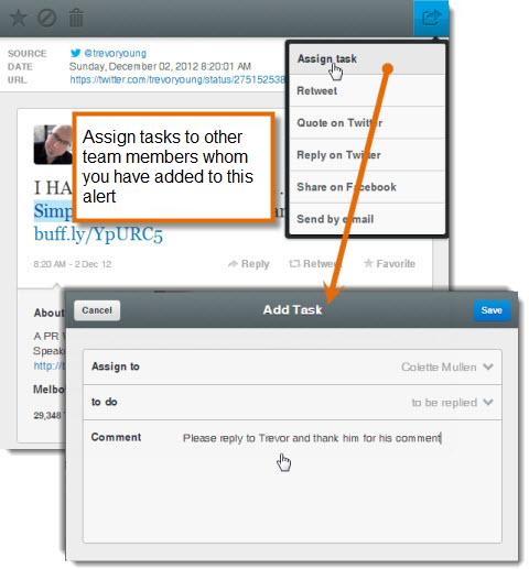 mention assign tasks