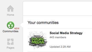 communities link