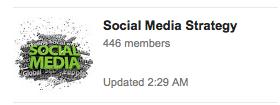 social media strategy community