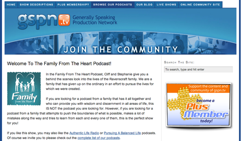 family from the heart podcast