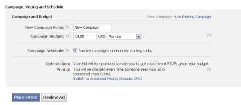 campaign pricing